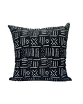 Kwadwo I- Black Mud Cloth Print Cushion