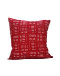 Kwadwo II- Red Tribal Print Cushion