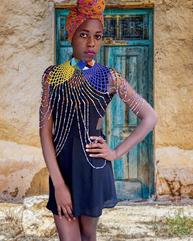 Wendo II- Multicolor Body Beaded Jewelry