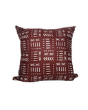 Kwadwo VII- Brown Mud Cloth Print Cushion
