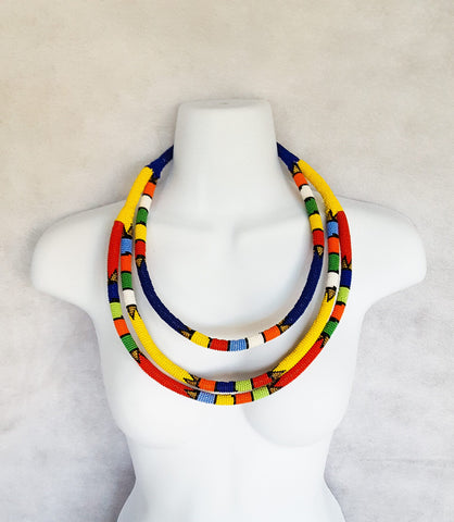Lindiwe - Zulu Multi-layer Necklace