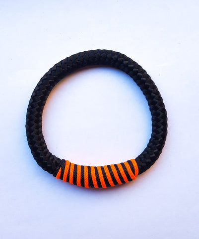 Tambo - Black Threaded Rope Bracelet