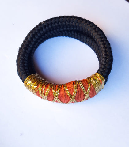 Tambo II- Double Threaded Rope Bracelet