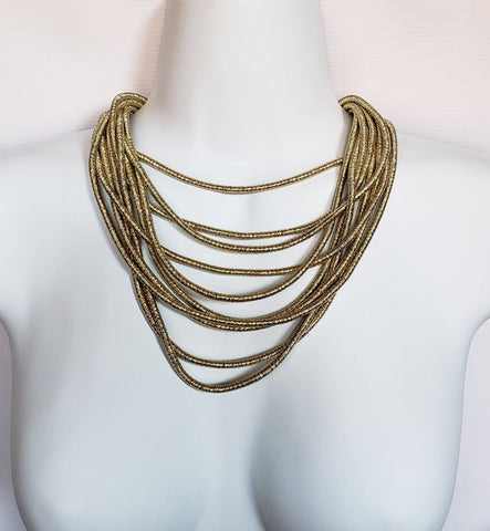 Thando - Gold Rope Layered Necklace