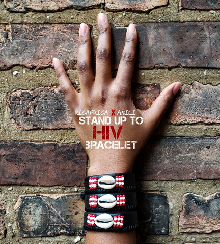 Asili - Stand Up to HIV Bracelet