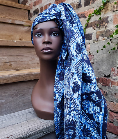 Kitenge III - African Print Head Wrap (No Wax)