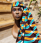 Gele - Wax African Head Wrap