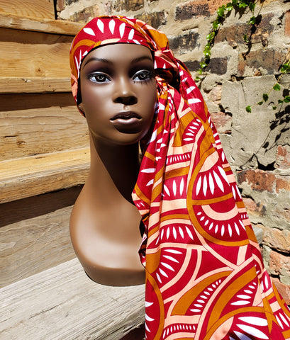 Kitenge IV - African Print Head Wrap (No Wax)