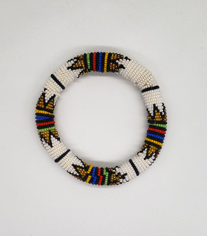 Sibo - Multicolor Zulu Beaded Bracelets