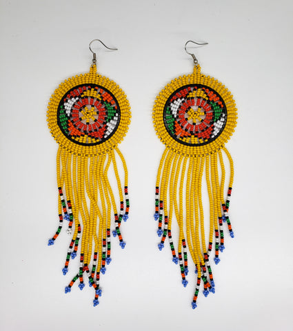 Ulwazi - Multi-Color Zulu Earrings