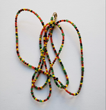 Amana - Rasta Red Green and Yellow Waist Beads