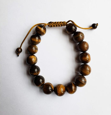 Nyala - Tiger Eye Stone Adjustable Bracelet