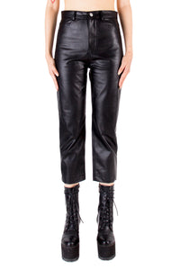 Faux Leather Slim Pant