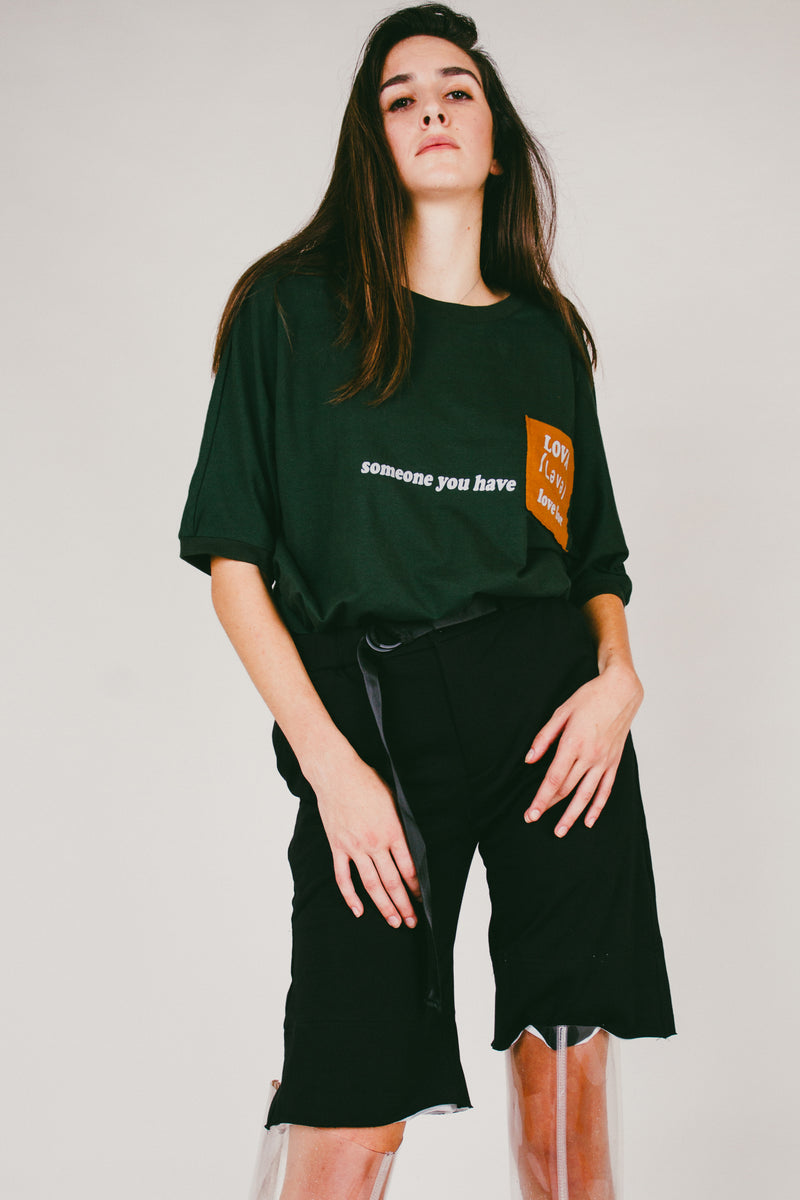 Lova Pocket Tee | Green