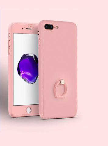 Ring Grip Stand iPhone Case | Pink