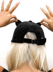 Kitty Cat Ear Baseball Cap