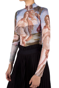 Birth of Venus Sheer Tee
