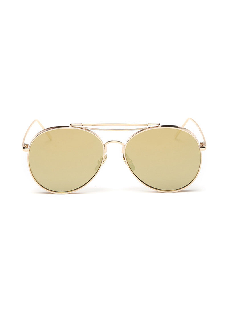 Jurassic Aviator Sunglasses| Gold