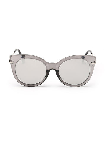 Asher Cat-Eye Sunglasses| Black