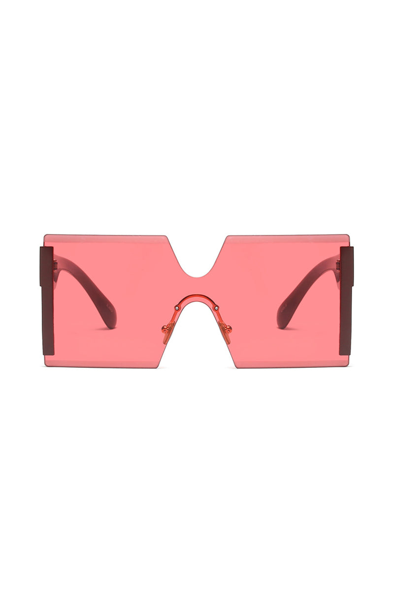 Born 2 Ball Seamless Sunglasses | Red
