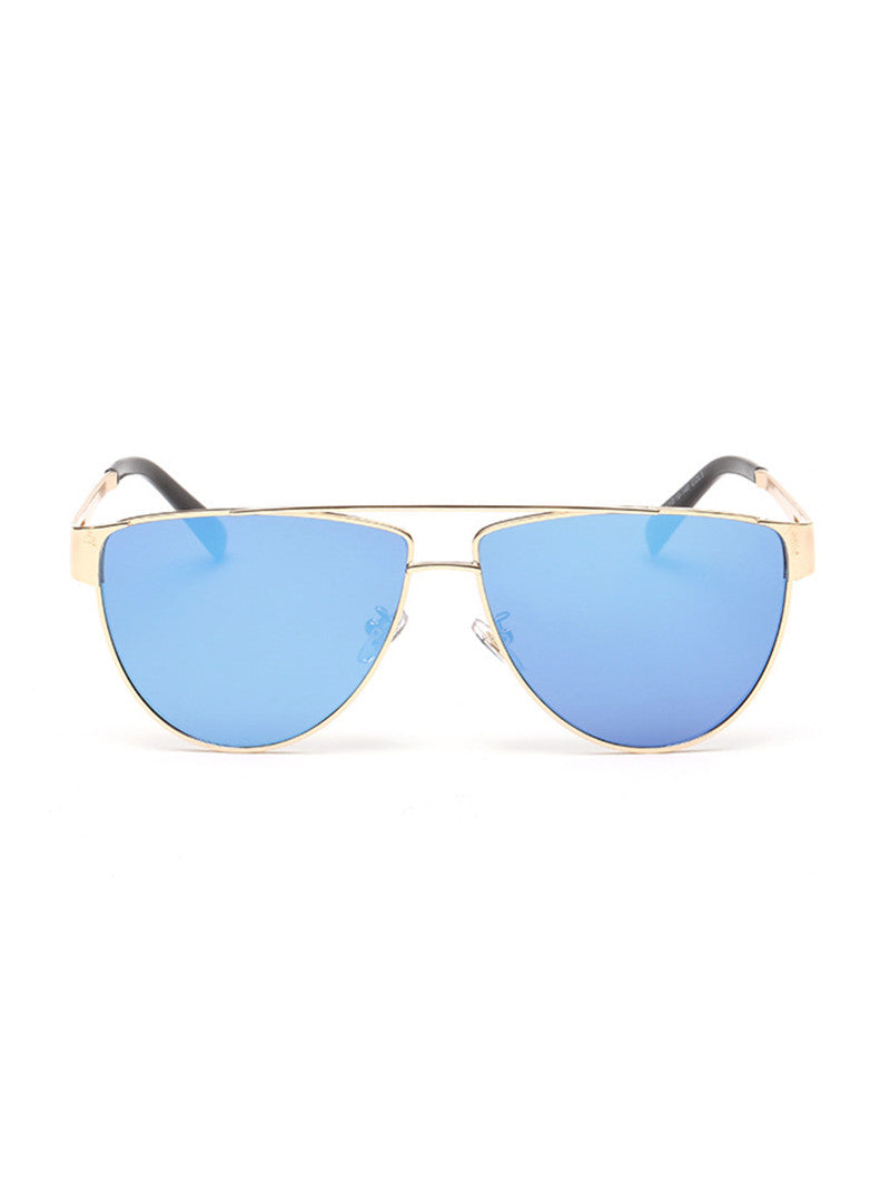 Fame Aviator Sunglasses| Blue