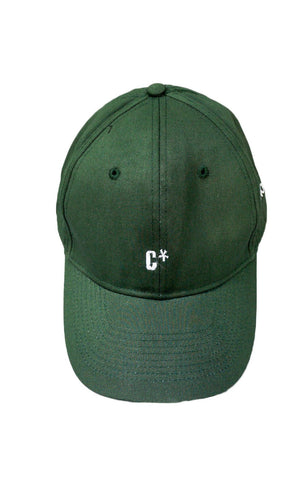 The CXX Curved Brim Baseball Cap | Jungle Green - BKBT Concept