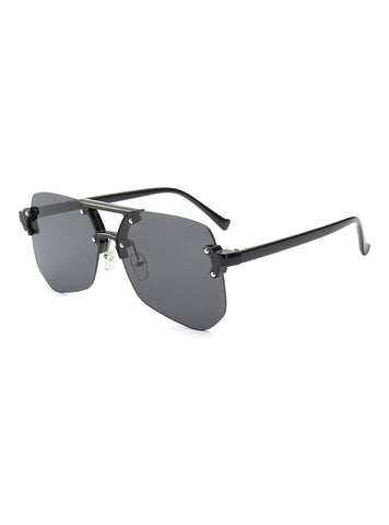 Oasis Hexagon Sunglasses | Black