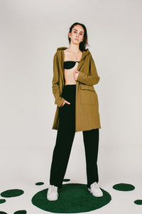 Lova Hooded Cardigan Jacket | Green