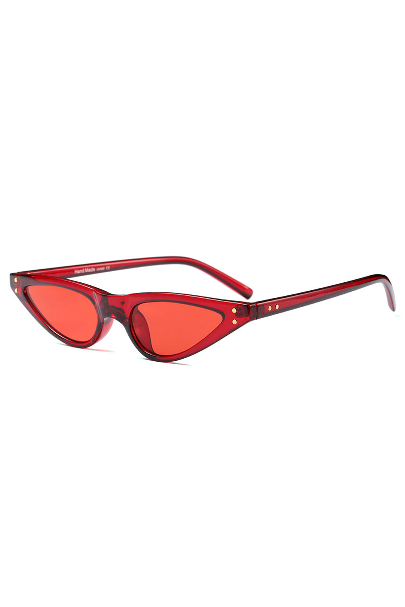 Lil Baby Bash Sunglasses | Red