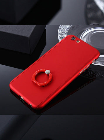 Ring Grip Stand iPhone Case | Red
