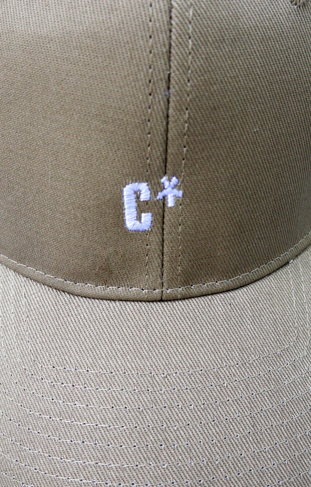 The CXX Curved Brim Baseball Cap | Tan - BKBT Concept