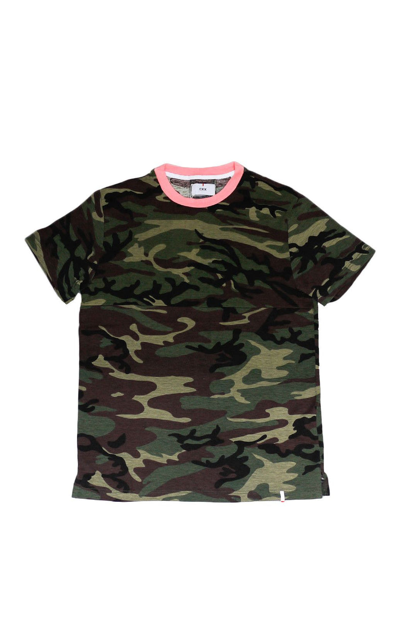 The CXX Contrast Camo Tee - BKBT Concept