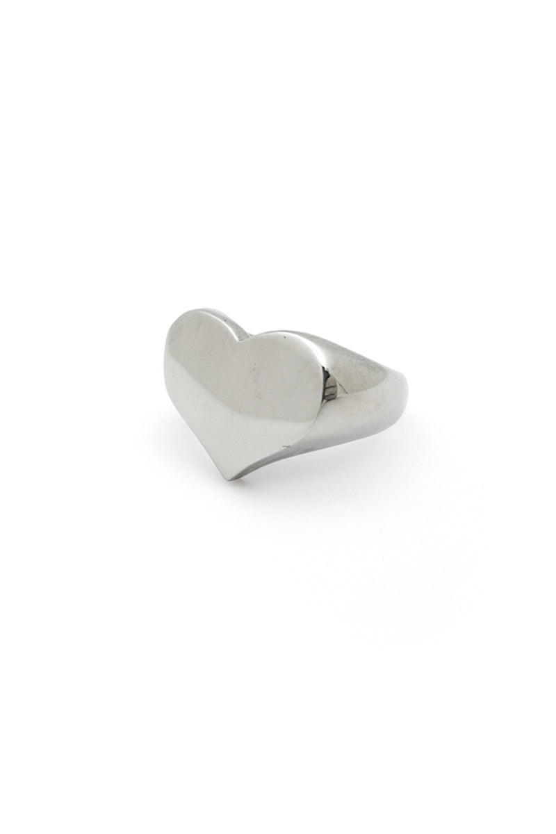 Loveless Heart Signet Ring