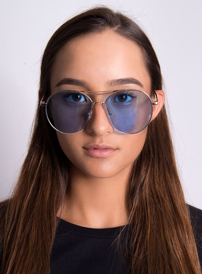 Retro 70's Sunglasses | Blue