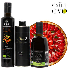 Extra Virgin Olive Oils for Fruit and Dessert