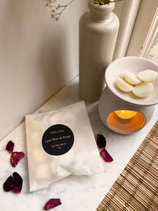 Oud, Rose & Peony - Scented Wax Melts