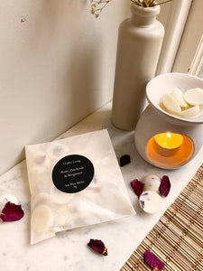 Rose, Patchouli & Bergamot - Scented Wax Melts