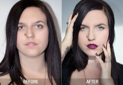 katie before & after