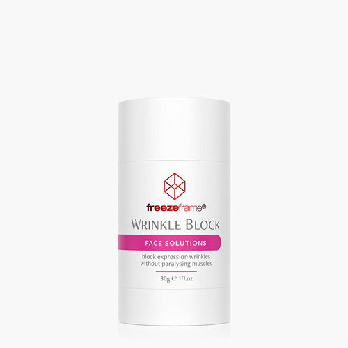 WRINKLE BLOCK block expression wrinkles without paralysing muscles