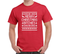 funny merry christmas t-shirt for dog parents