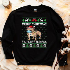 funny festive season sweaters for dog lovers