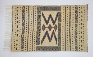 "MS15: Handwoven  Wool Rug 79,2"" * 45,6"" by Berber Art"