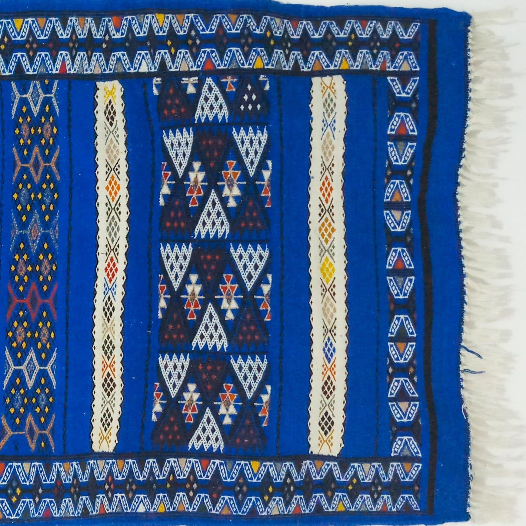 "MS20: Handwoven Wool Rug 75,96"" * 42,84"" by Berber Art"