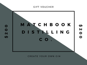 Create you Own Gin Gift Voucher