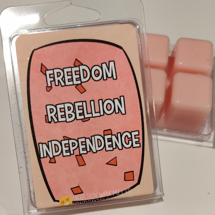 FREEDOM REBELLION INDEPENDENCE Wax Bar