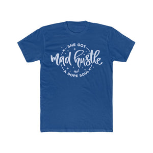 Unisex Mad Hustle Tee (blue)