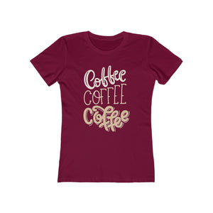 Women's-Fit Coffee x3 Tee