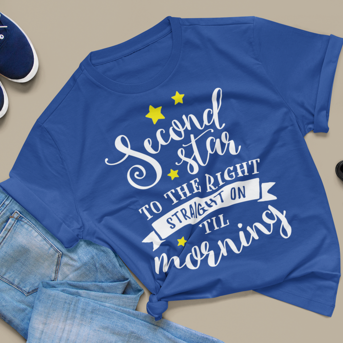 Women's Fit Second Star to the Right Tee