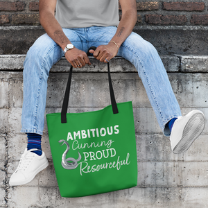 AMBITIOUS HOUSE Tote Bag