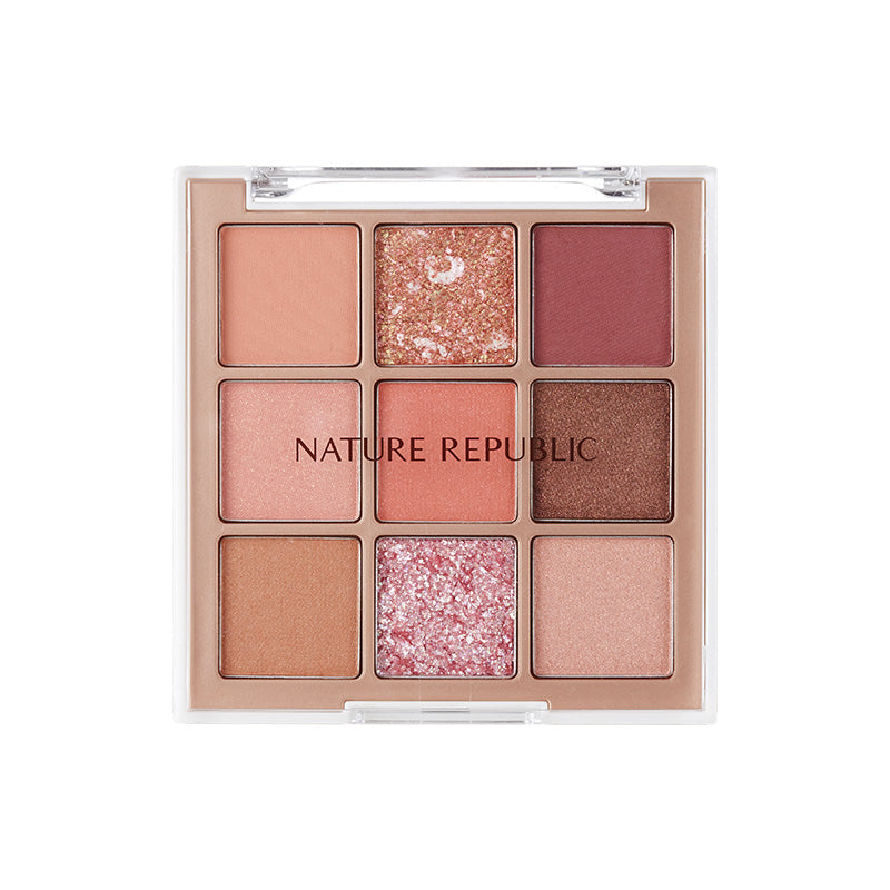 PRO TOUCH KILLING POINT SHADOW PALETTE 03 ROSY CANVAS